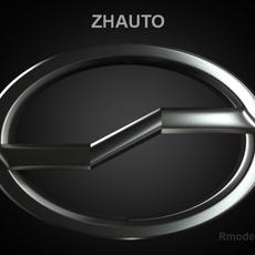 Zhauto 3d Logo 3D Model