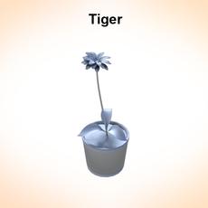 Tiger Lily 3D Model