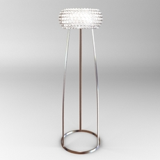 Glass Bead Floor Lamp 3D Model