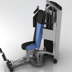 Fitness Gym Equipment 003 3D Model