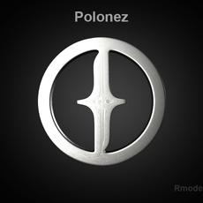 Polonez 3d Logo   3D Model