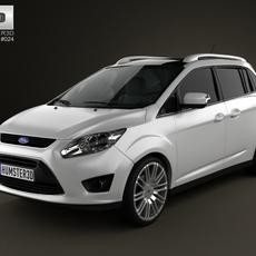 Ford Grand C-max 2011 3D Model