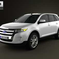 Ford Edge 2012 3D Model