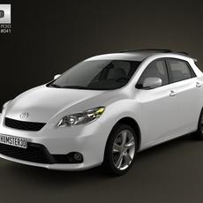 Toyota Matrix (Voltz) 2011 3D Model