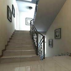 Corridor Spaces 043 3D Model