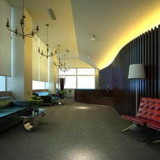 Corridor Spaces 051 3D Model
