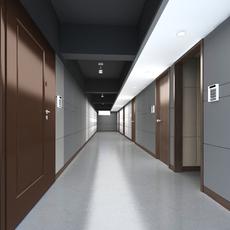 Corridor Spaces 065 3D Model