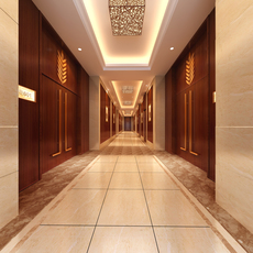 Corridor Spaces 075 3D Model