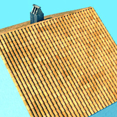3D Model Tile Roof Dirty & Clean Textures 3D Model