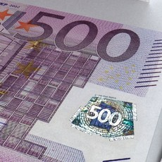 500 euros Banknote 3D Model