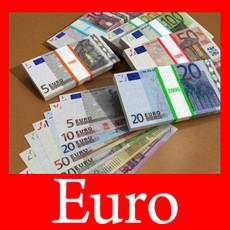 European Paper Money Collection 3D Model