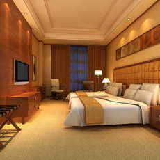 Guest Room 059 3D Model