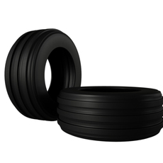 Agriculture Heavy Tire 3D Model