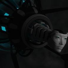 Robot Queen 3D Model