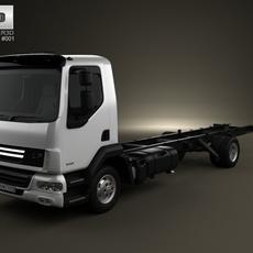 DAF LF Chassis Truck 2011 3D Model