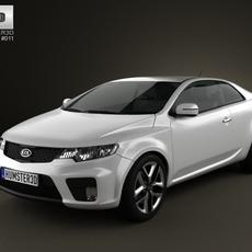 Kia Forte (Cerato, Naza) Coupe 2012 3D Model
