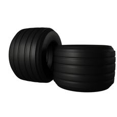 F1 Bridgestone Tire  3D Model