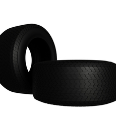 Indy Car Tire   3D Model