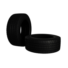 Michelin MS LTX Tire 3D Model