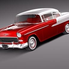 Chevrolet Bel Air Coupe 1955 3D Model