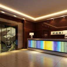 Lobby space 210 3D Model