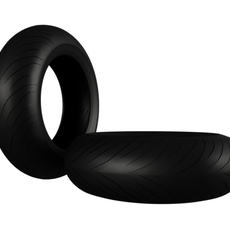 Moto GP Tire 3D Model
