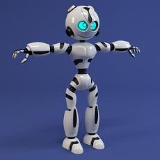Robot RM200 3D Model