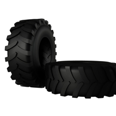 Tractor Tire  3D Model