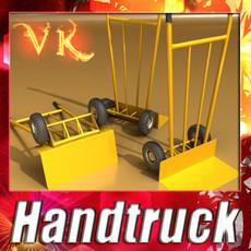 3D Model Hand Truck High Res Textures 3D Model