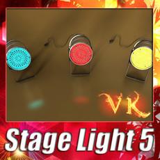3D Model Spotlight Stage Light 05 3D Model
