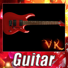 3D Model Electric Guitar High Detail 3D Model
