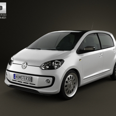 Volkswagen Up 5-door 2012 3D Model
