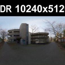 HDRI 104 Sidewalk