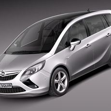 Opel Zafira Tourer 2012 3D Model