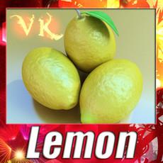 3D Model Lemon High Detail 3D Model