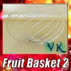 3D Model Decorative Bowl 02 3D Model