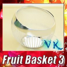 3D Model Decorative Bowl 3D Model