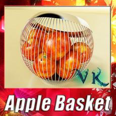 Red Apple High Detail 3D Model