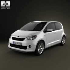 Skoda Citigo 5-door 2013 3D Model