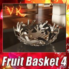 3D Model Decorative Bowl 04 3D Model
