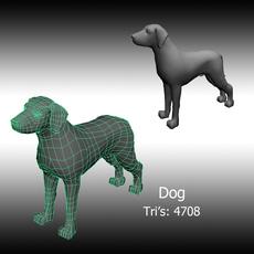 Basic Dog 3D Model