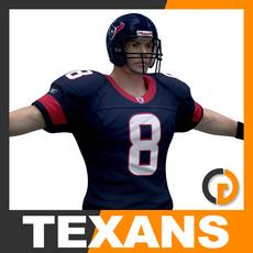 NFL Player Houston Texans 3D Model