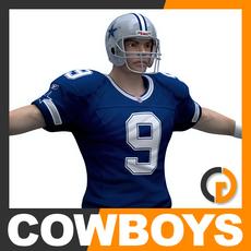 NFL Player Dallas Cowboys 3D Model
