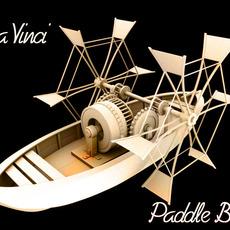 Da Vinci – Paddle Boat 3D Model