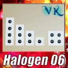 3D Model Halogen Lamp 06 Photoreal 3D Model