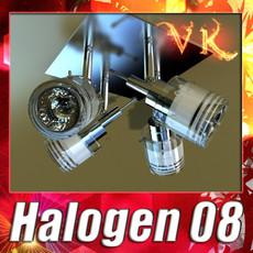 3D Model Halogen Ceiling Light 08 Photoreal 3D Model