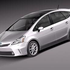 Toyota Prius V 2012 3D Model