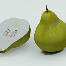 Quince 3D Model