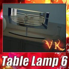 3D Model Modern Table Lamp 06 Maserati 3D Model