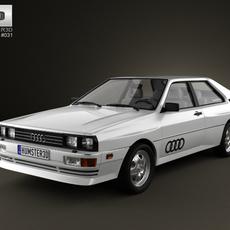 Audi Quattro 1980 3D Model